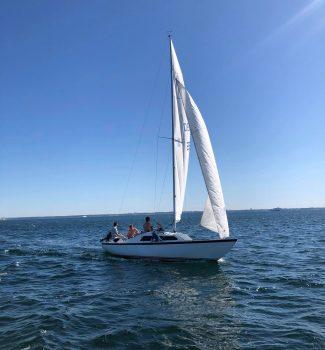 Søger storsejl og fog til H-Båd