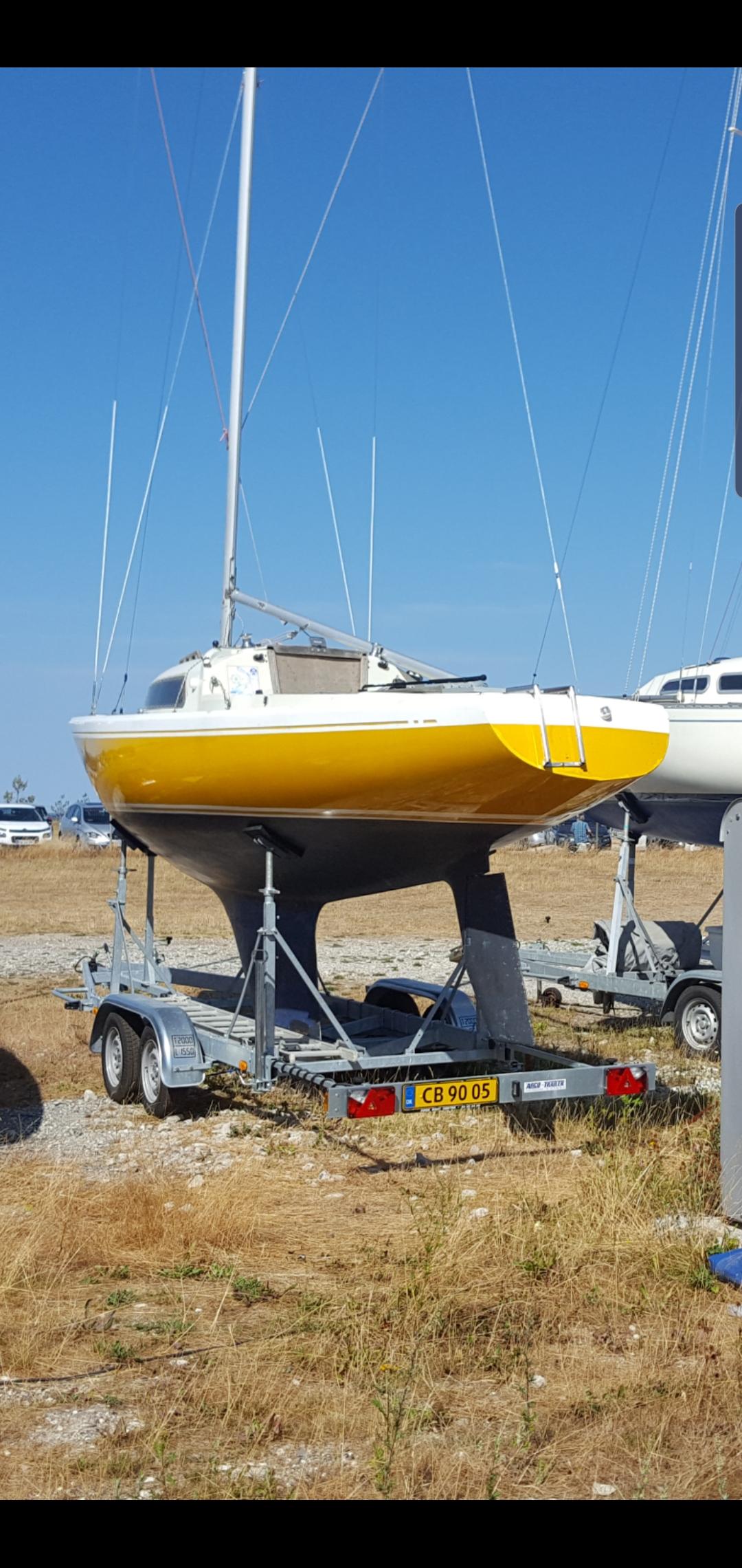 Arco 2000 h-båds trailer 2017